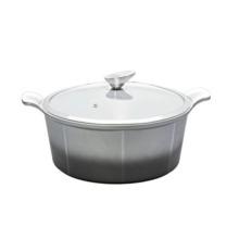 Pote de cocina de cerámica de aluminio de la venta caliente