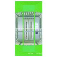 Ascenseur d'observation de type moderne avec petite salle de machine