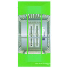 Modern Type Observation Elevator with Small Machine Room