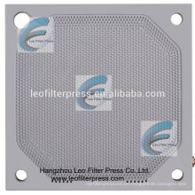 Leo Filter Press Membrane Filter Presione Membrane Squeezing Operation Placa de filtro de membrana