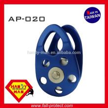AP-020 30kN Aluminium-Legierung mobile Seite kleine Riemenscheibe