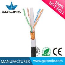 Câblage de câbles extérieurs de serrage cat6 FTP