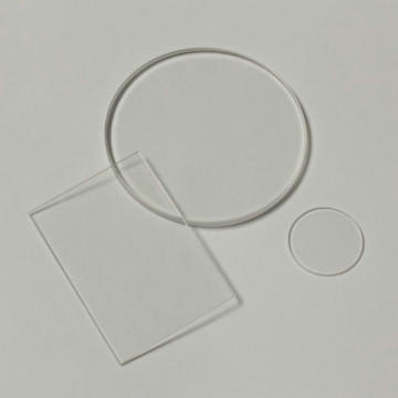 Cristal de reloj de zafiro plano de 1,0 mm de espesor