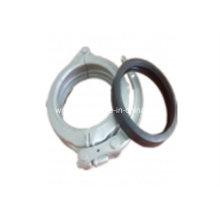 Pince forgée de pompe concrète de Dn125 (5inch)