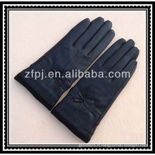 Gants de poing en tricot à laine en cuir de mode 40cm