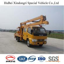 Caminhão de plataforma de braço de dobramento de 14m Euro5 com boa qualidade