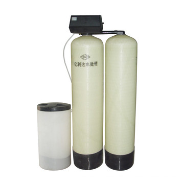 Ablandador de agua de trabajo alternativo One Work One Double Tank