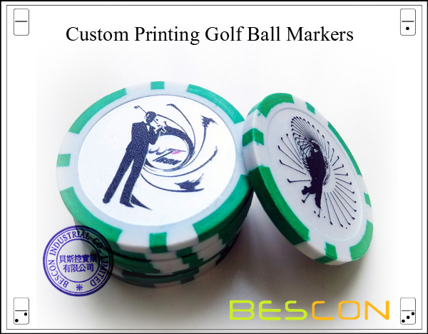 Custom Printing Golf Ball Markers-2