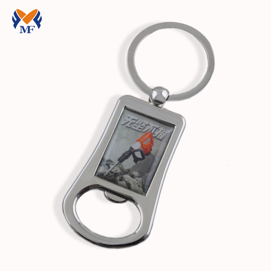 Branded Bottle Opener Keyring