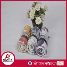 textiles para el hogar 100% poliéster tamaño completo al por mayor manta de lana polar ligero