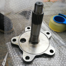 Carbon steel free forging flange
