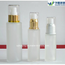 30ml 50ml 100ml Frosted Lotion Glass Bottle with Spray