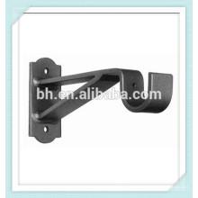 ONA Custom Brace base vertical de ferro forjado cortina suporte de rod