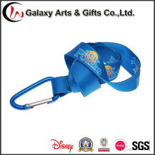 High Quality Sublimation Lanyard with Carabiner