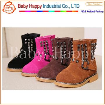 Новые ботинки лодыжки младенца прибытия оптовые ботинки детей младенца