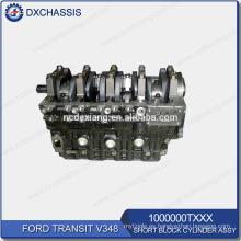 Genuine Transit V348 Conjunto de cilindro de bloque corto 1000000TXXX