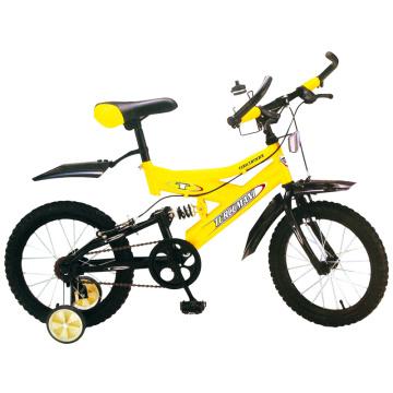 """16 """"One Speed Suspension Children Bike"""