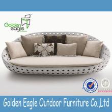 Runde Form hohe Qualität SGS Rattan Proof Möbel