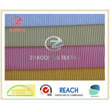 Tejido de pana de poliéster / nailon de 6W para uso en sofá y chaqueta (ZCCF056)