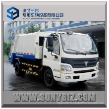 Euro 5 Foton Aumark 4X2 Compactor Camion à ordures