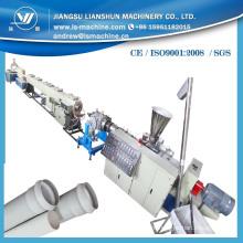Linha de produção de tubos de PVC plástico totalmente automático