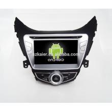 Quad core! Dvd de voiture avec lien miroir / DVR / TPMS / OBD2 pour 8 pouces écran tactile quad core 4.4 Android système HYUNDAI ELANTRA