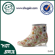 botas de lluvia impermeables botas de agua de lujo D-625