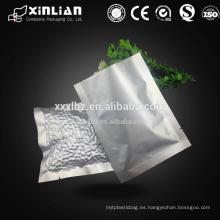 Hoja de aluminio plástica del precio de fábrica que cocina bolsos