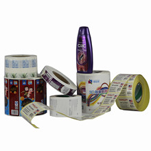 Hot Sale Printing High Quality Self Adhesive Label Sticker for Shampoo Package