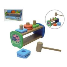 WOODEN BEATTING BUILDING BLOCKS