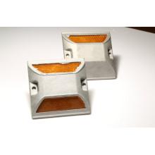 100 * 100 * 20 мм двойной стороны светоотражающих дорожных стад алюминия дорожной кнопки