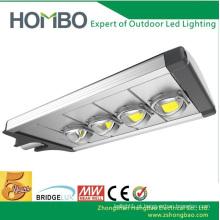 Luz de rua super brilhante do diodo emissor de luz 5 anos de garantia 160W ~ 180W poder superior Bridgelux conduziu a lâmpada conduzida ao ar livre da microplaqueta