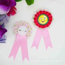 Оптовая Дешевые Свадебный безопасности Красный цветок Pin Брошь
