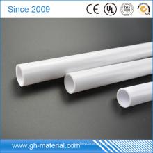 Tuyau de conduit de fil électrique de PVC rigide de prix usine de 25mm