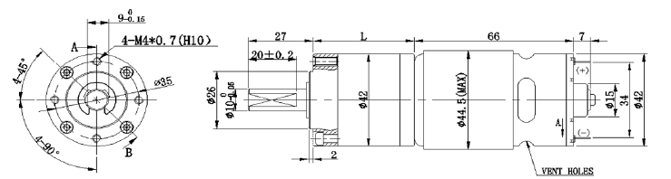 Dc Motor Planetary Gearbox