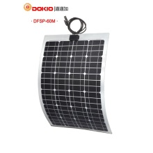 Dokio Flexible Solar Panel 60W Mono