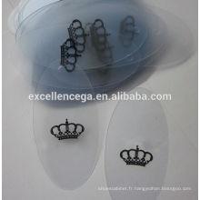 Étiquettes en plastique de bonne qualité pour les vêtements