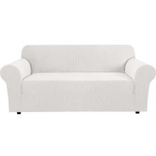 Fundas de sofá de jacquard de spandex de tejido elástico de 1 pieza