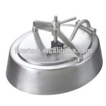 sanitary tank cover/ satinless steel tank manway cover(elliptical shape)