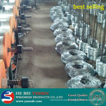 Best selling galvanized iron wire/binding wire the raw material of wire nail