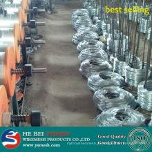Melhor venda de fio de ferro galvanizado / fio de ligação da matéria-prima da unha de arame