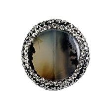 Accessoire en perles de pierre naturelle 23 * 23