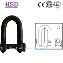European D Type Trawling Shackle, Bow Type, JIS D Type, Us Type, Anchor Shackle, Fastener, Rigging, Anchor Shackle, Maine Hardware