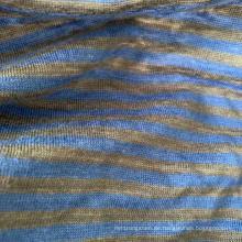 Leinengarn gefärbtes Strickjersey