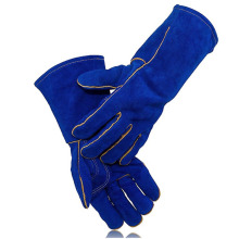 One of Hottest for Anti-Puncture Gloves Cow Split Leather Work Leather Welding Gloves supply to India Supplier