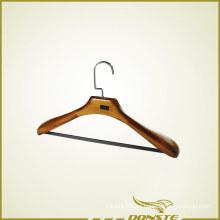 Percha ajustable de madera de pera