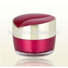15g 30g 50g en forma de corazón cosméticos de acrílico crema tarro vacío