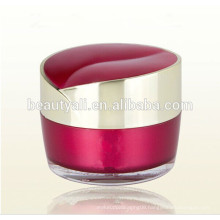 15g 30g 50g Heart Shaped Acrylic Cosmetics Cream Empty Jar