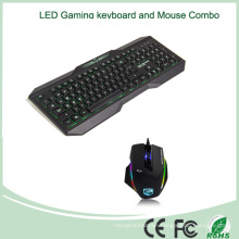 Top Selling LED Gaming Keyboard and Mouse Combo (KB-1801EL-C)