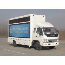 Foton levou publicidade caminhão (tela de 10,8 m2)